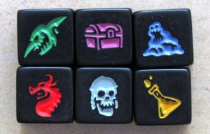 Dungeon Roll Enemy Dice