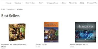 best sellers page