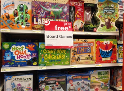 target board game aisle